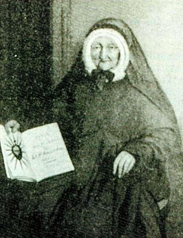 Juffr. Helena Van Celst-Kums (1779-1864), oprichtster van de Zusters van het H. Hart van Jezus